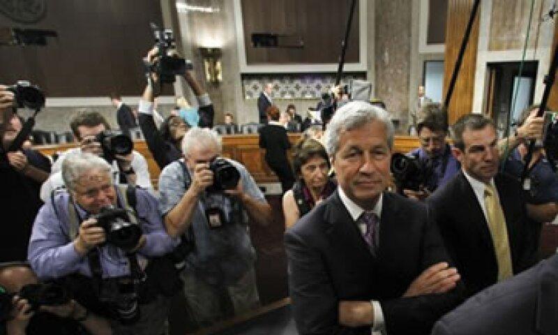Dimon se rehusó a mencionar que la legislación Dodd-Frank hubiera hecho el sistema financiero más seguro. (Foto: Reuters)