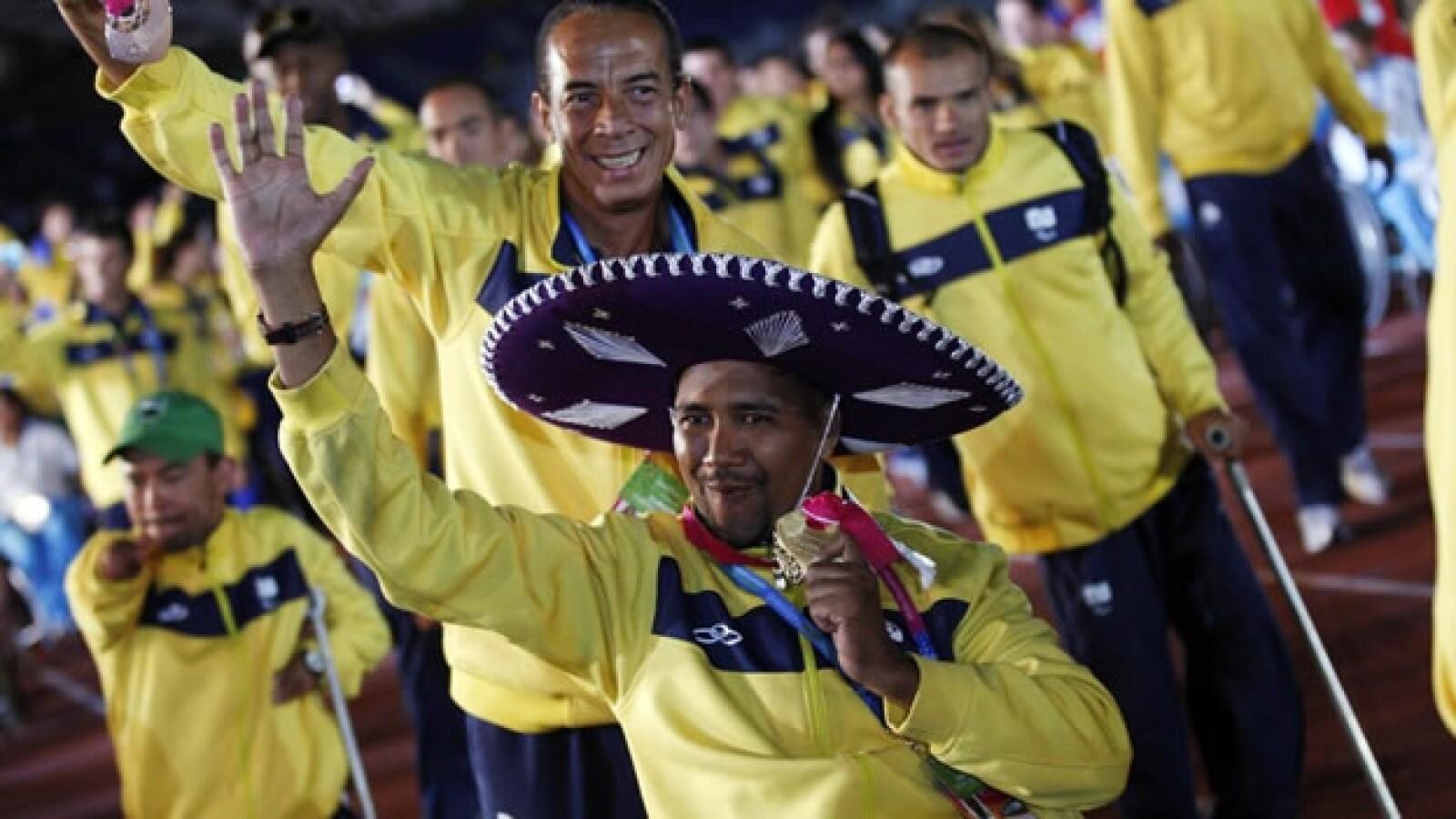 parapanamericanos guadalajara 2011 jalisco clausura