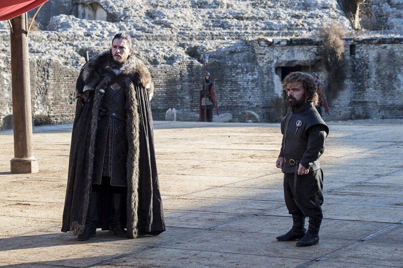Jon y Tyrion