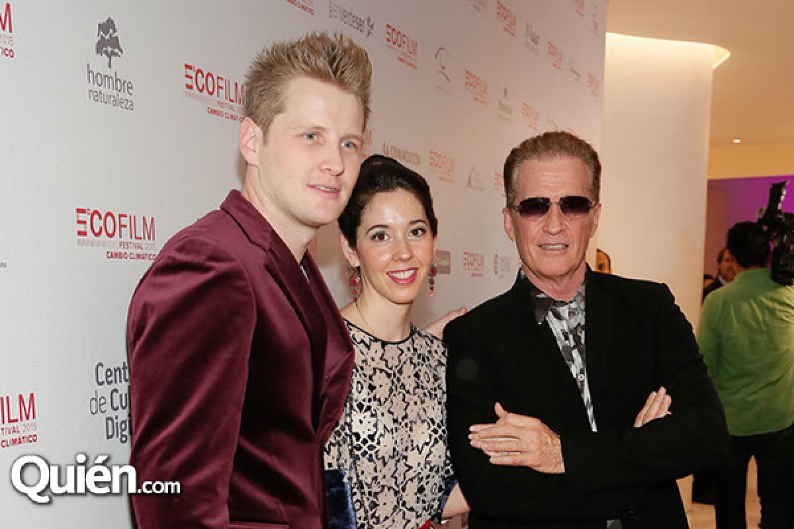 Alexander,Giovanna y Emmanuel Acha
