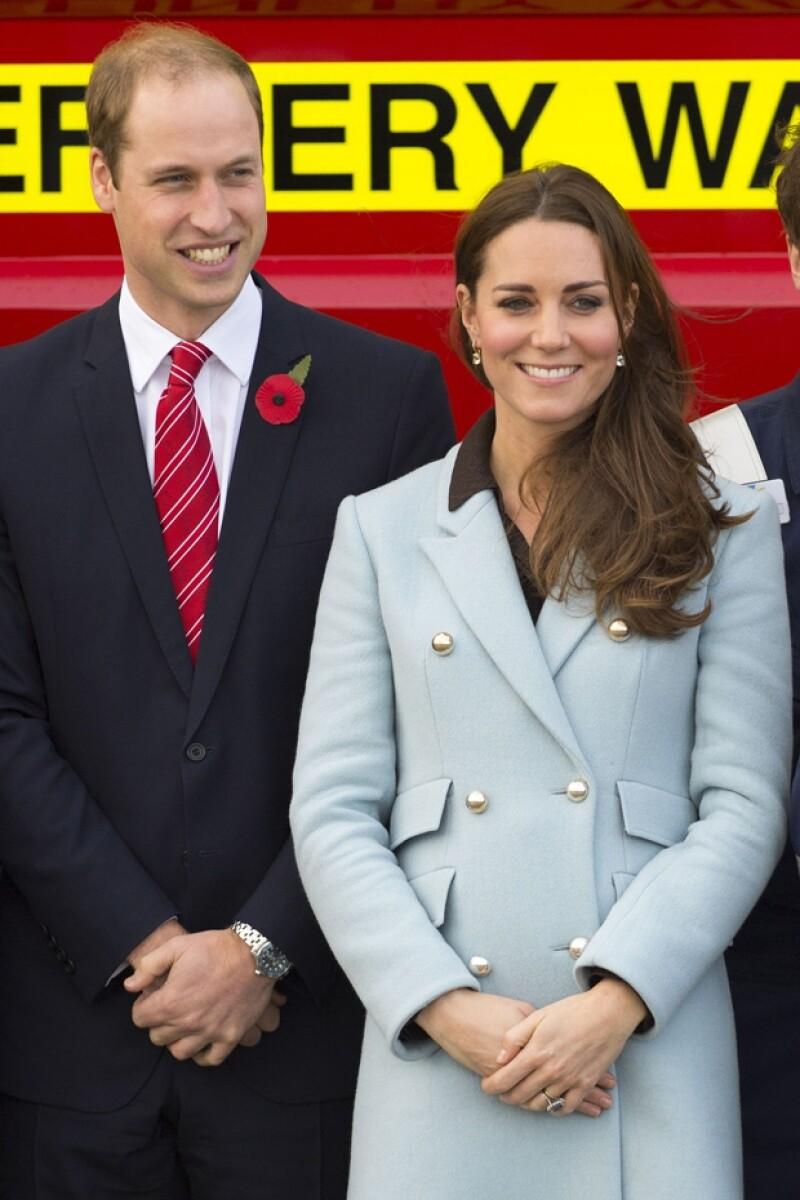 La duquesa de Cambridge está a punto de llegar a los cuatro meses de su segundo embarazo.