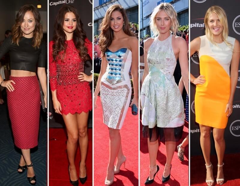 La moda y el estilo no faltaron en la gala deportiva. Olivia Wilde, Selena Gomez, Katherine Webb, Maria Sharapova y Stephanie Gilmore como las mejor vestidas de la noche.