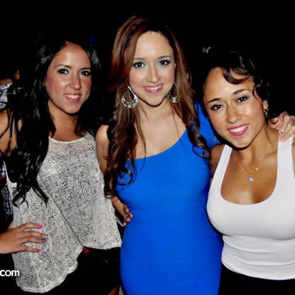 Kika Rodríguez, Fernanda González y Luz de la Rosa