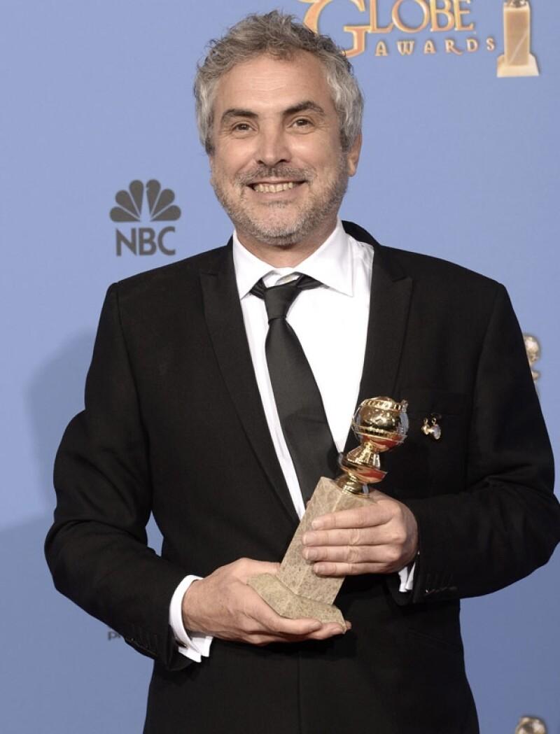 Personalidades del la esfera del cine, el espectáculo y la política han compartido el orgullo que les despertó la victoria del mexicano como Mejor Director en los Golden Globes.