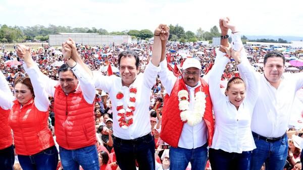 René Juárez pide redoblar esfuerzos