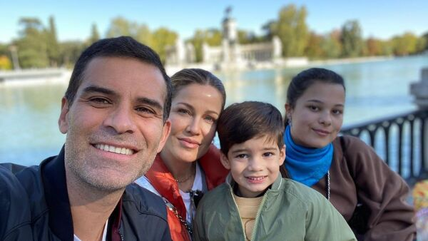Rafa Márquez, Jaydy Michel, Leonardo y Manuela,