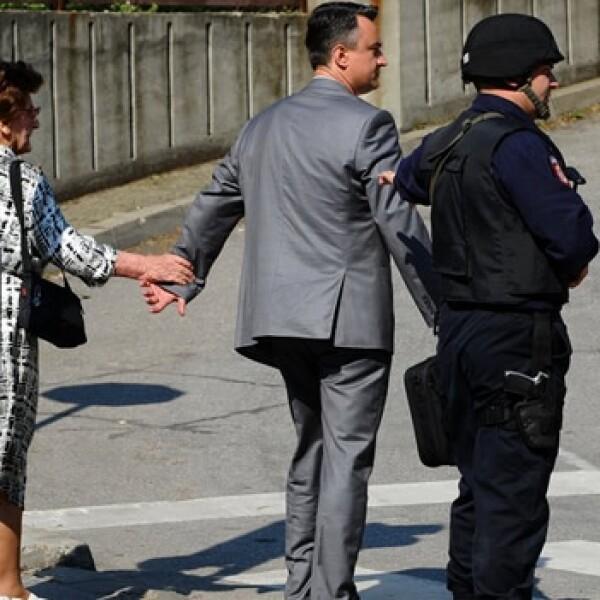 Mladic - hijo - Belgrado