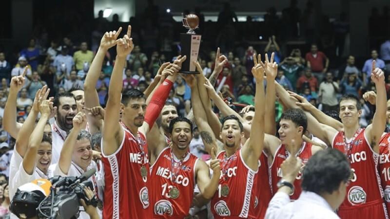 centrobasket basquetbol mexico campeon