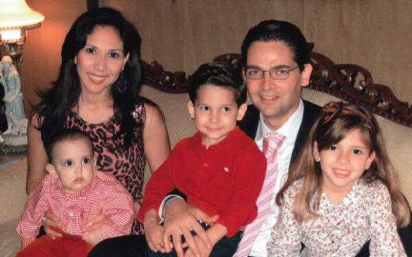La familia iba los fines de semana al cine y a comer a algún restaurante en el que los niños pudieran jugar.