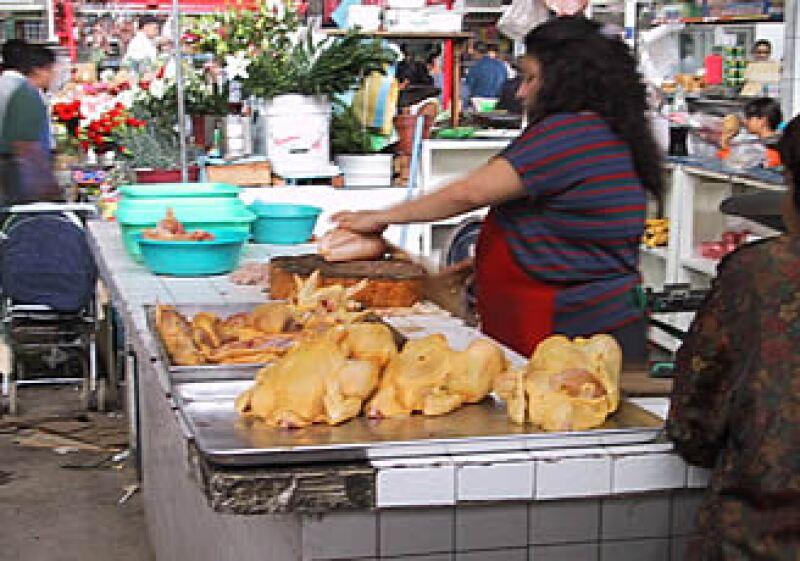 El consumo de pollo por persona en México es de aproximadamente 26.2 kilos al año. (Foto: Especial)