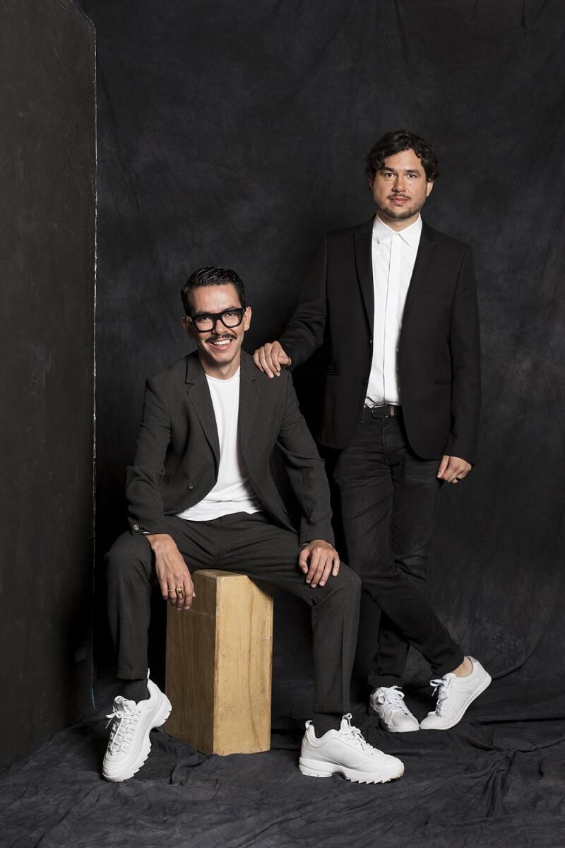 Manolo Caro y Rafael Ley
