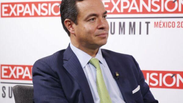 Paulo Carre�o, director de ProM�xico