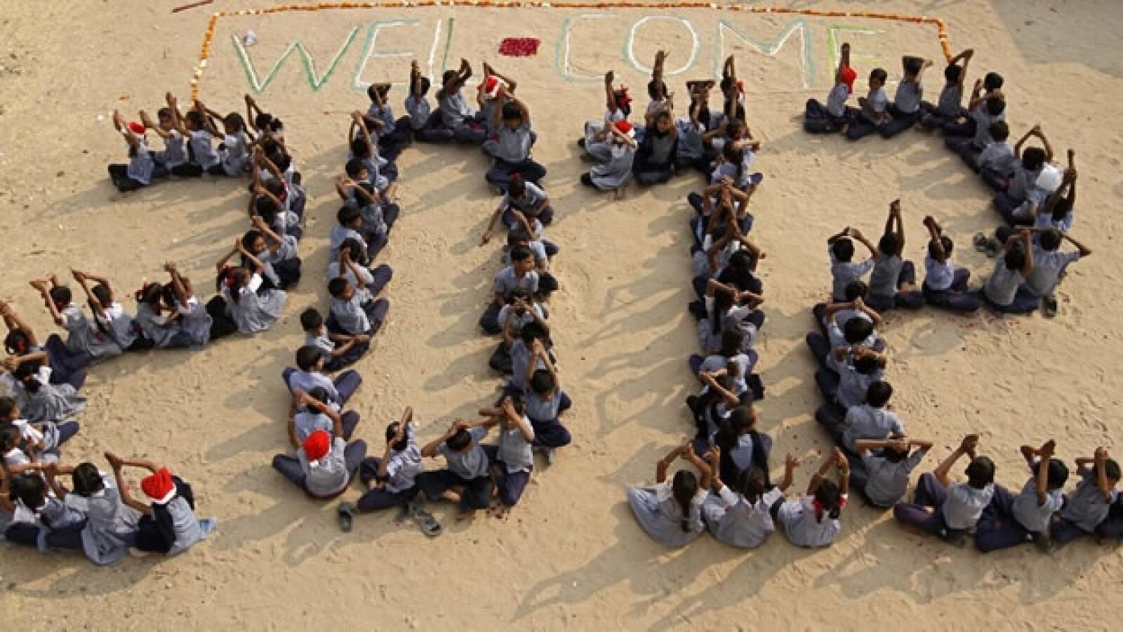 año nuevo 2011 2011 celebracion india