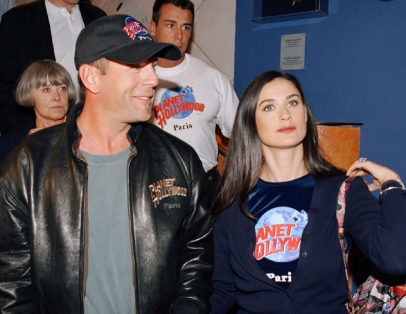 Bruce y Demi procrearon tres hijas.