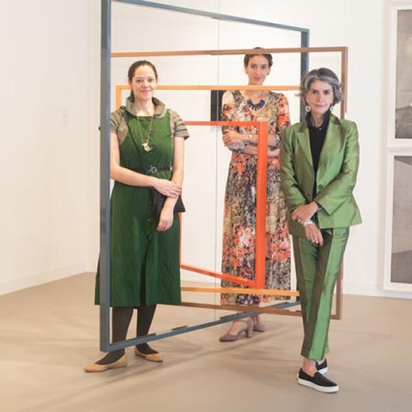 Carmen Kabel, Kerstin Erdmann y Patricia Ortiz Monasterio