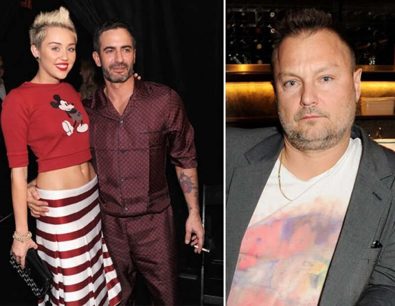 En varias alfombras rojas, Miley ha utilizado modelos de Marc. Juergen no quiso fotografiar a Cyrus para Jacobs.