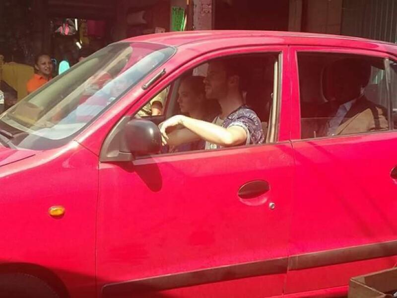 Esta es la imagen que está haciendo suponer que Liam Hemsworth también está en Veracruz.