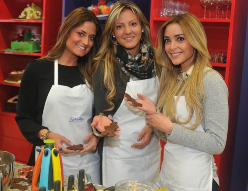 Ana Otero, Fernanda Guzmán y Vivi Minvielle.