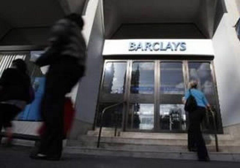 Barclays reportó un incremento de 8% en sus utilidades del primer trimestre. (Foto: Reuters)