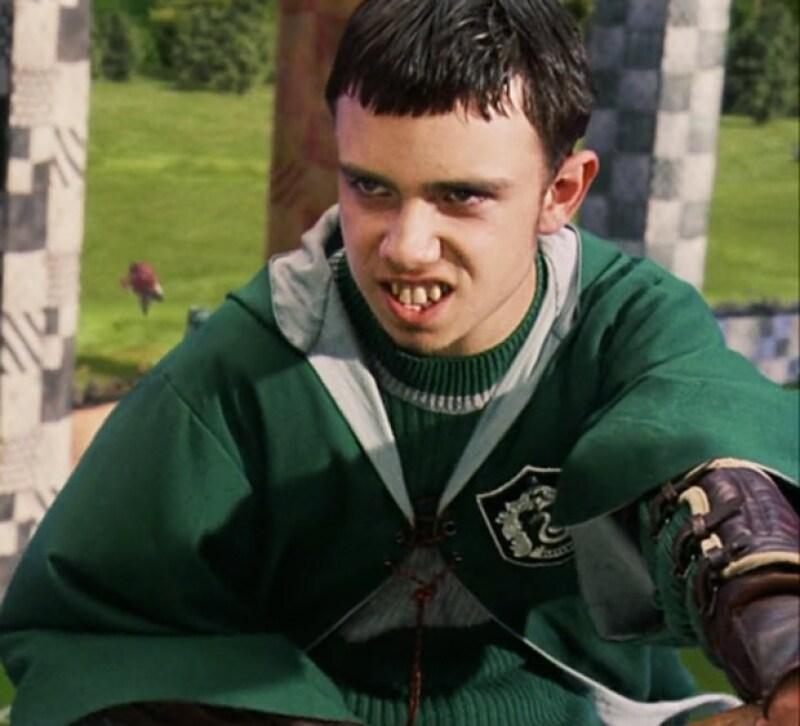 Jamie le hizo la vida imposible a Harry cuando jugaban Quidditch en Harry Potter and the Chamber of Secrets.