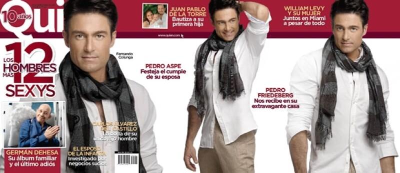 La portada de Colunga fue en spread.