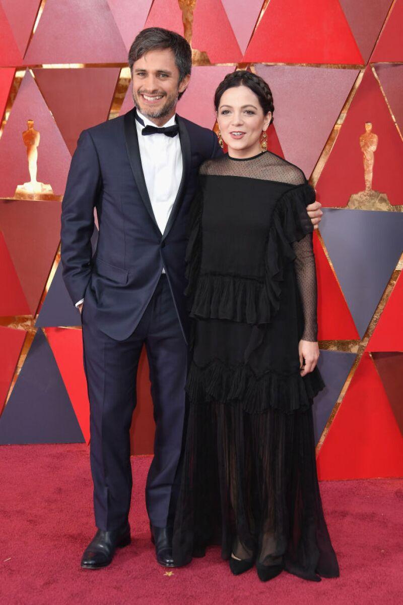 Gael García y Natalia Laforucade