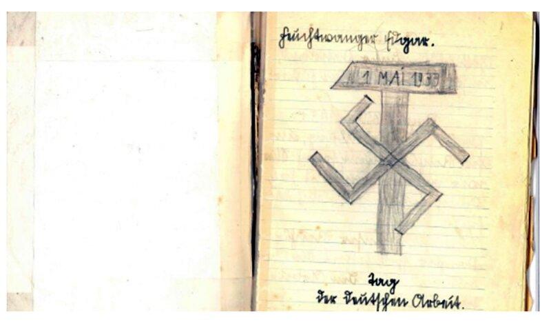 Edgar Feuchtwanger no podía escapar de la propaganda nazi.