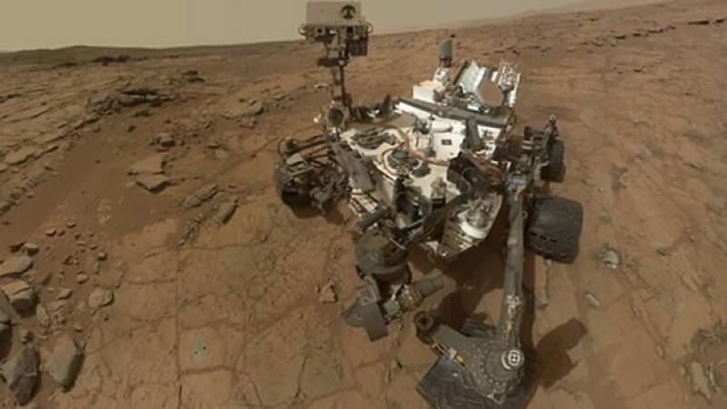 'Curiosity' perforó rocas en Marte y encontró evidencia de nitrato, que pudieron ser usados por organismos vivos
