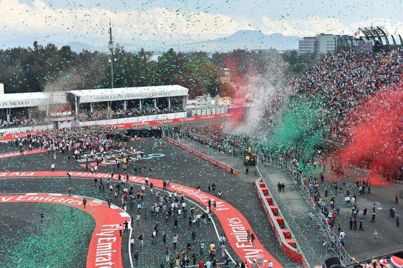 La F1 regresa a México para tres días de fiesta y velocidad
