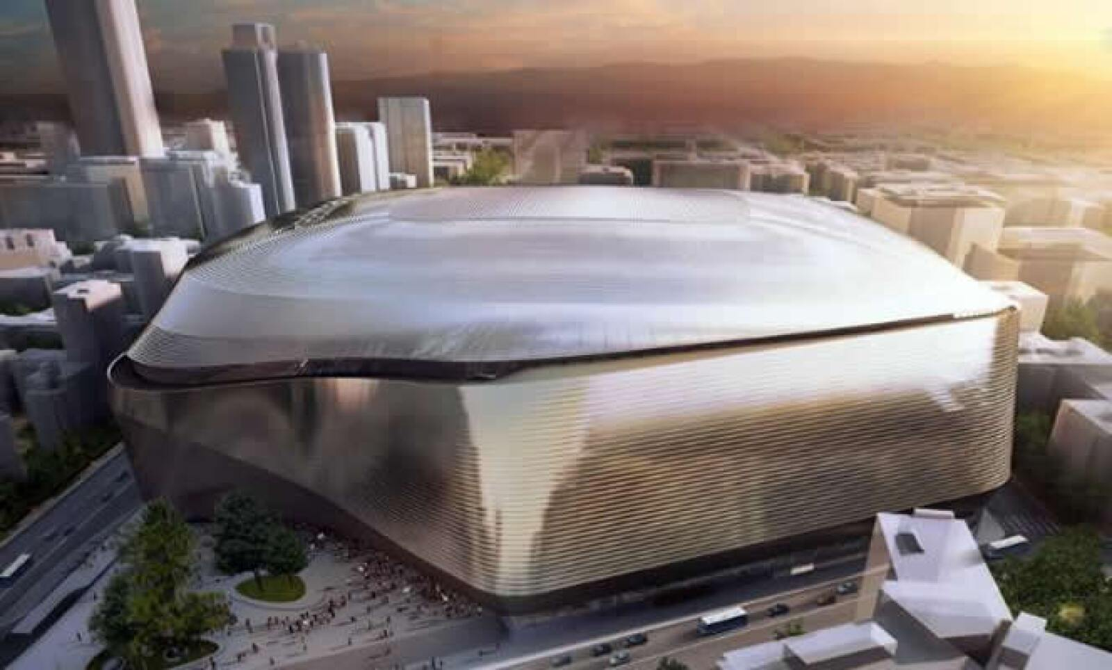Un video mostró imágenes de la evolución del estadio y de los principales eventos deportivos que se han celebrado en éste.