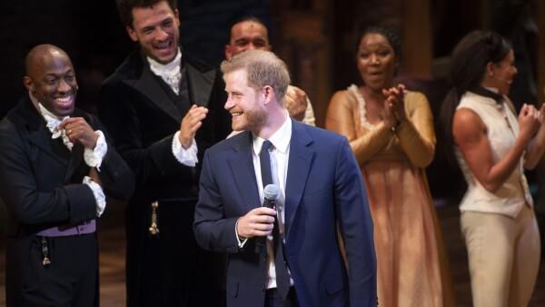 Harry en la obra Hamilton