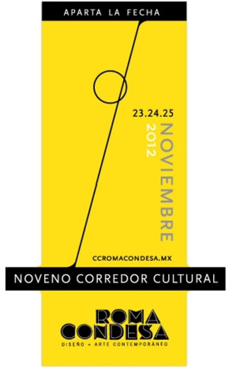 Este viernes  23 de noviembre inicia  la novena edición de este recorrido por dos de las colonias más `in´ de la Ciudad de México donde habrá : moda, arte, cine, gastronomía y diseño.