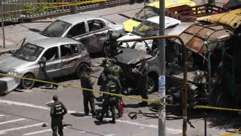 atentado Colombia Bogotá