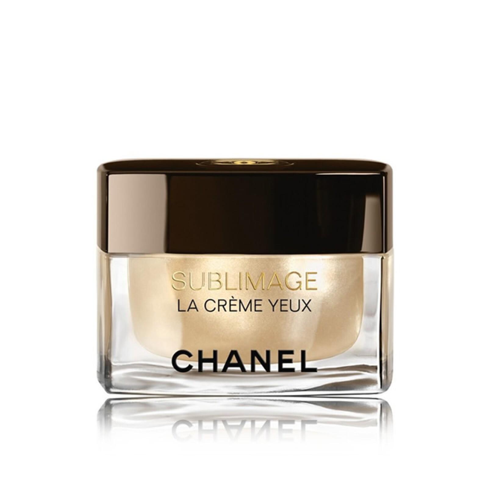 Chanel: Sublimage - La Crème Yeux (máxima regeneración contorno de ojos). Palacio de Hierro Santa Fe. Precio en punto de venta.