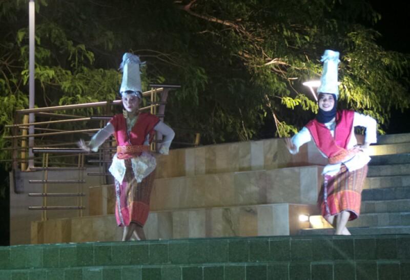El público también disfrutó de diversas manifestaciones culturales asiáticas.