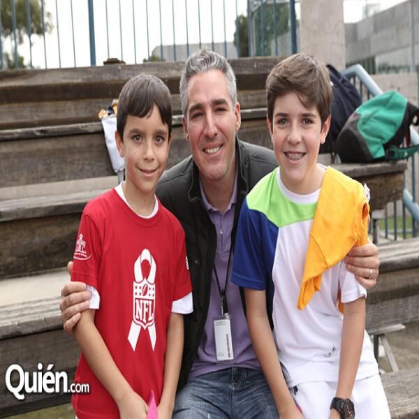 Jerónimo Ruiz,Manuel Fernández,Antonio Ruiz