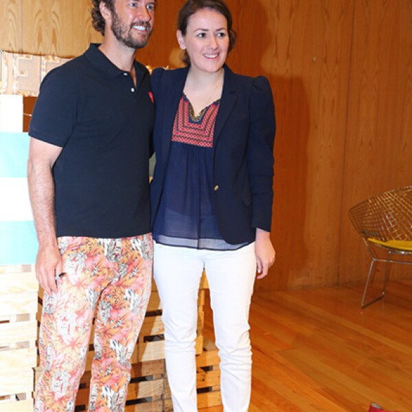 Blake Mycoskie y Alejandra Rosillo