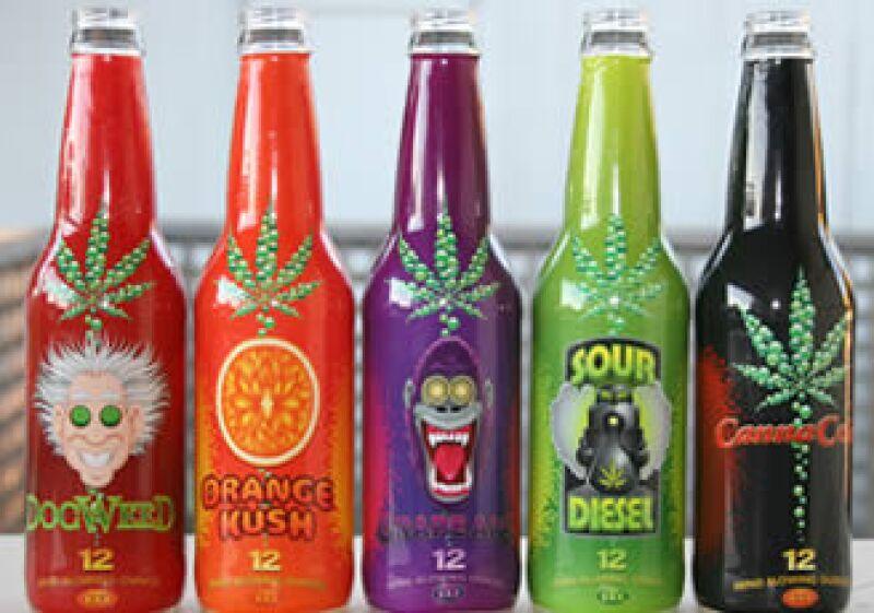 La bebida a base de mariguana se vendrá entre 10 y 15 dólares por bebida. (Foto: Cortesía DrinkCannaCola.com)
