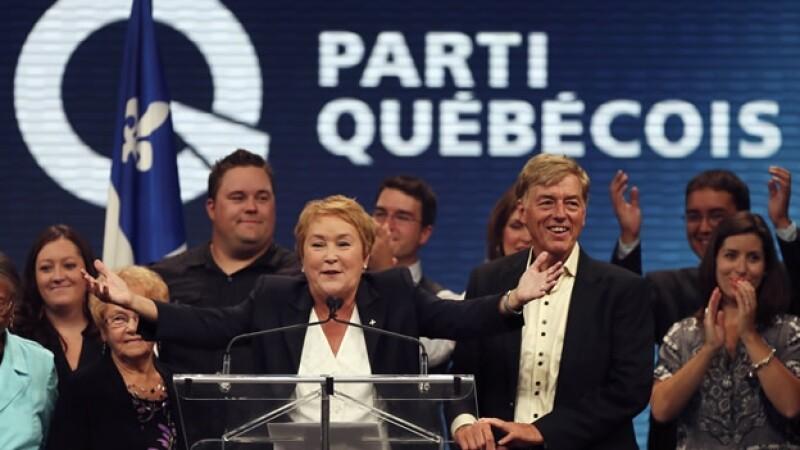 Pauline Marois, primer ministro, quebec, tiroteo