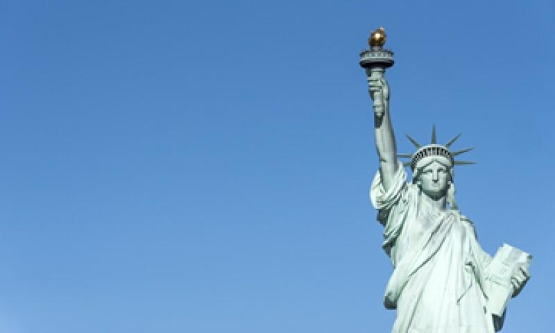 """El tuit aseguraba que la Estatua de la Libertad estaba """"angustiada"""" por una resolución contra los refugiados sirios (Foto: Getty Images/Archivo)"""