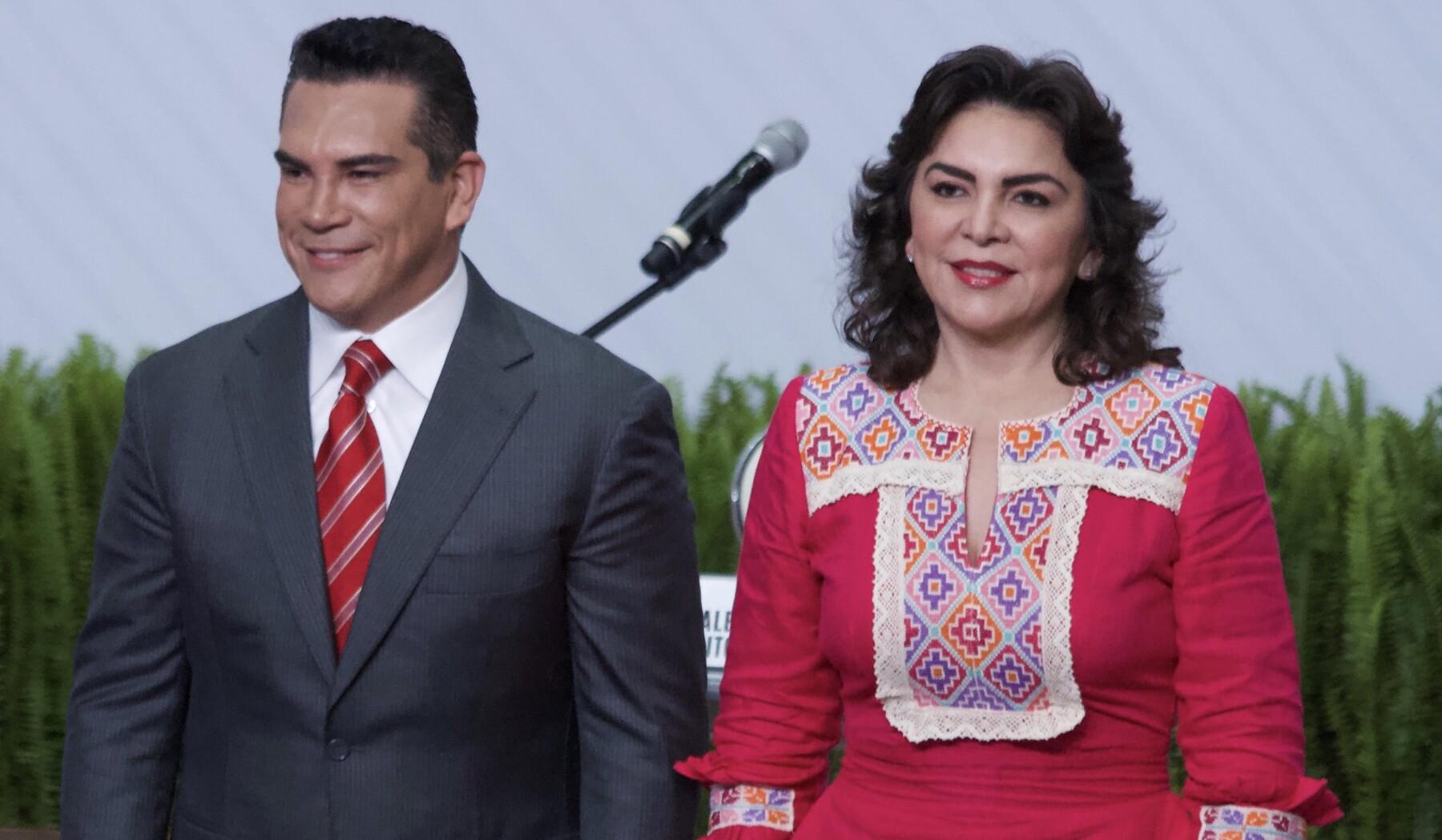 Alejandro Moreno e Ivonne Ortega