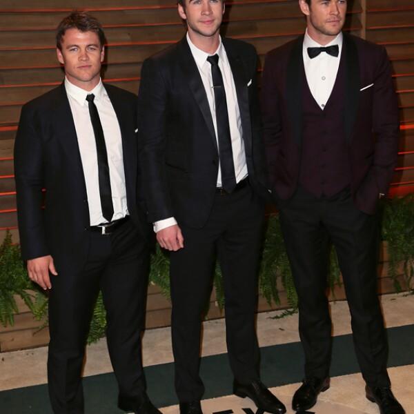 Luke Hemsworth es el único de los hermanos que no es ideal para hacerla de galán de Hollywood. Hablando de injusticias de la vida.