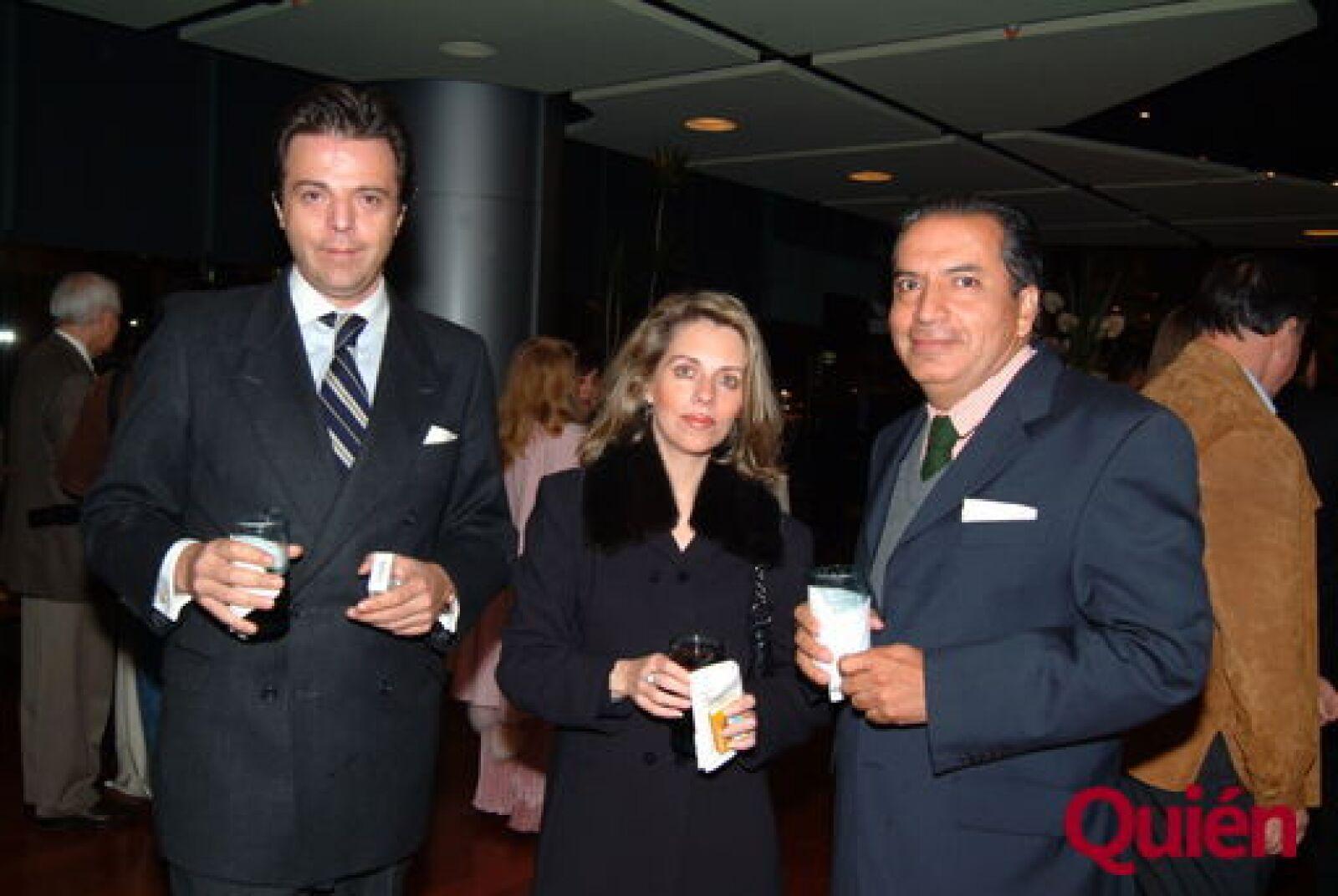 Alonso Murguía, Clara Allende, José Pérez-Dehesa