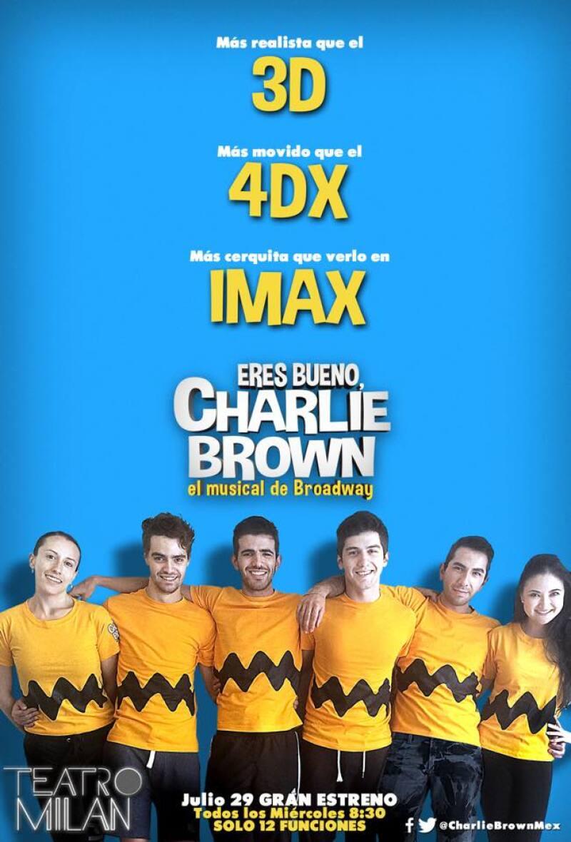 Ya preparan el estreno de Eres Bueno Charlie Brown y Quién estuvo presente durante uno de los ensayos con los actores, quienes nos contaron de qué trata esta puesta en escena con Snoopy y sus amigos.