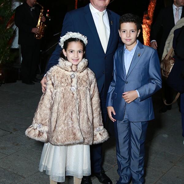 Marian de la Fuente,Mauricio Benavides y Gabriel de la Fuente