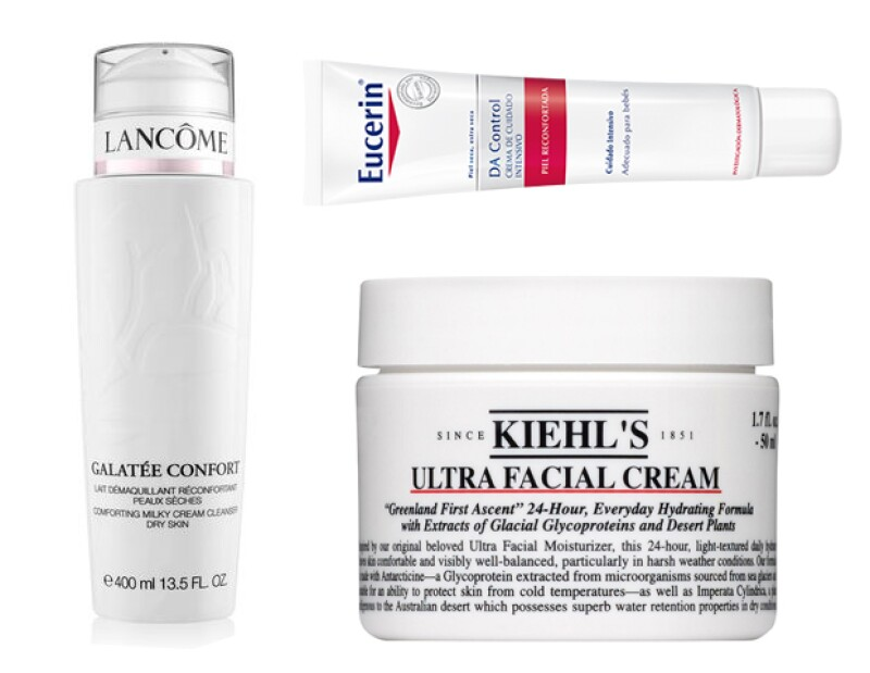 Si tienes la piel seca, te recomendamos estos productos.