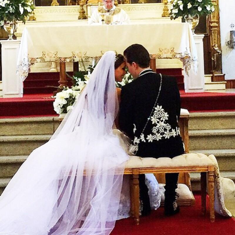 La cantante contó que ella y su ahora esposo suspiraron de tranquilidad una vez que lograron casarse de la forma en que ellos querían.