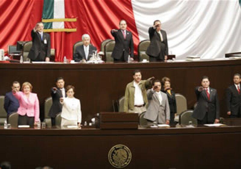 Soní Ocampo insta a los legisladores a aprobar iniciativas que contribuyan al crecimiento económico sobre todo en épocas de crisis. (Foto: Notimex)