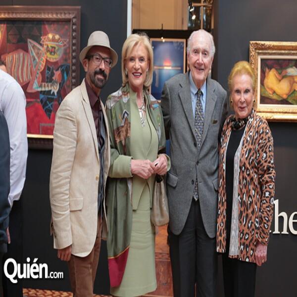 Óscar Román, Viviana Corcuera, Curtis Lowell, June Lowell
