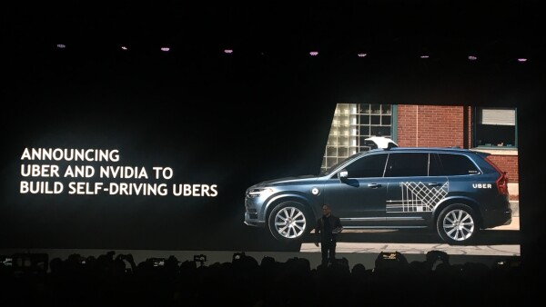 Uber y Nvidia van juntos en autonomía
